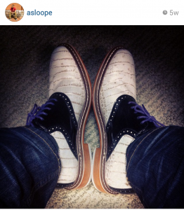 Cole Haan 2013 | Photo Credit: Instagram via @asloope