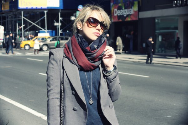A Definite Do: The scarf | Image Credit:  fashionclick.teenvogue.com
