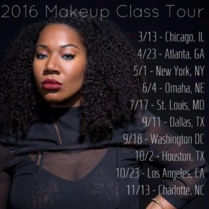 A Beautiful Face Tour Dates | Image via Facebook @ Alexandra Butler Makeup Artistry